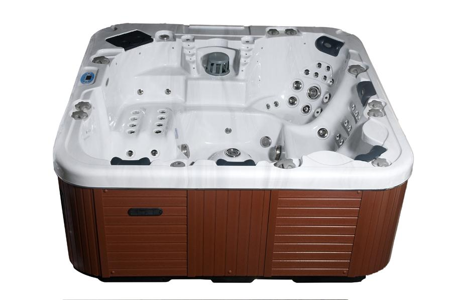 Exuma 6-7 Seater Hot Tub by Premier Hot Tubs of Norwich, Norfolk.