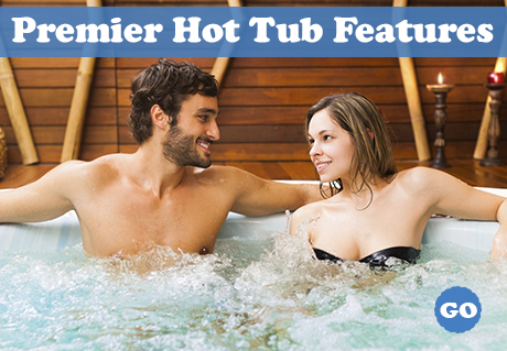 luxury hot tub features